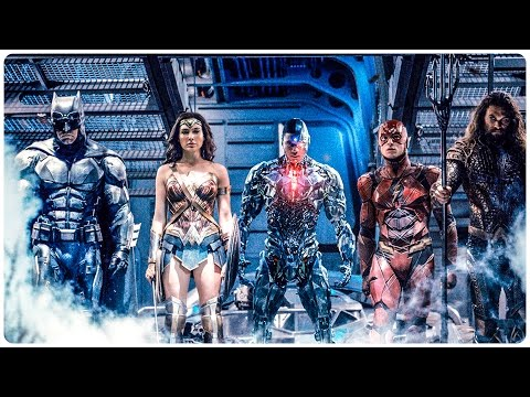 Justice League Extended Trailer (2017) Batman, The Flash