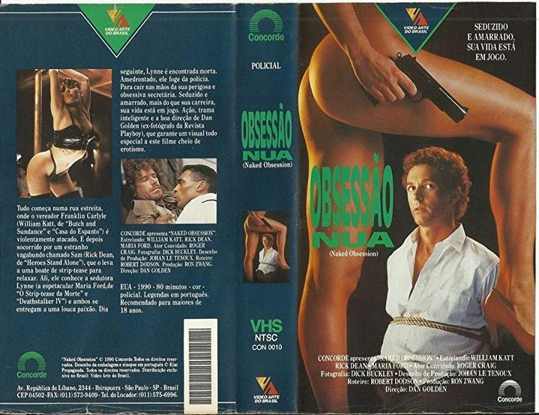 Naked Obsession (1990) William Katt, Rick Dean, Maria Ford