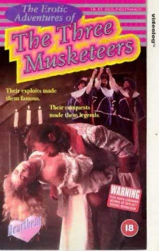 Janet Reddix Breasts, Bush Scene In The Erotic Adventures Of The Three Musketeers